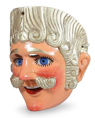 SPANISH MAN Guatemala Pinewood Sculpture Folk Art Dance Mask by NOVICA