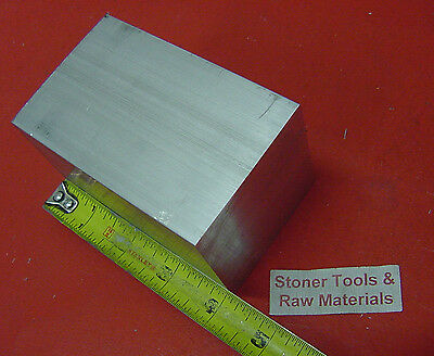 "2-1/2"" X 2-1/2"" ALUMINUM 6061 SQUARE SOLID FLAT BAR 4"" long T6511 Mill Stock 2.5"