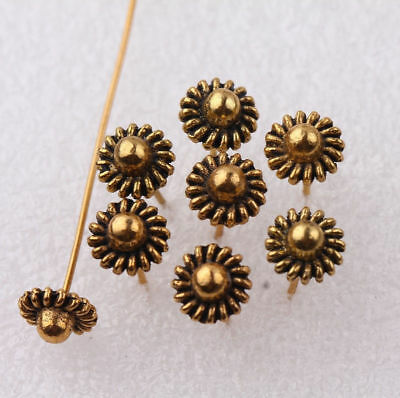 20Pcs Ancient Bronze Hat Pins Long Head Pins Jewelry Finding