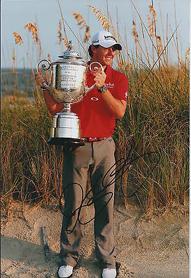 Rory McILROY SIGNED AUTOGRAPH 12x8 Photo AFTAL COA 2011 Congressional Winner PGA