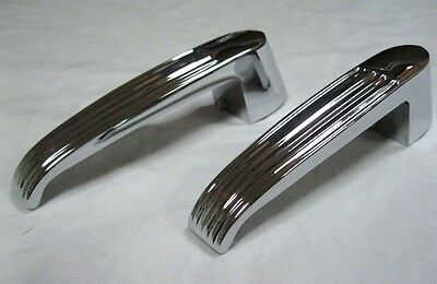 1956 Ford Pickup Truck Interior Inside Door Handles '56 F100 Both Doors