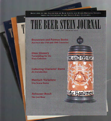 The Beer Stein Journal, 5 volume set