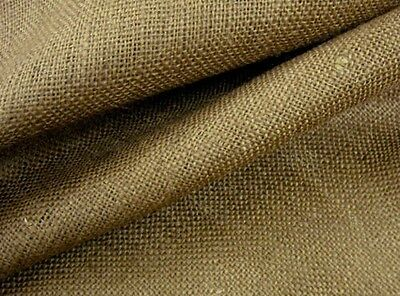 "Upholstery Natural Jute Burlap,10 oz 40"" wide BY THE YARD"