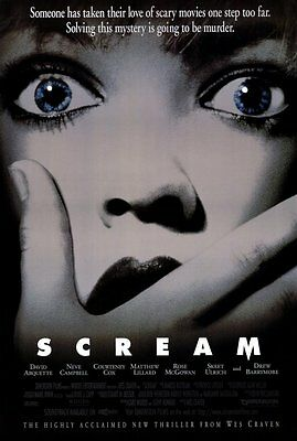 Scream (1996) Wes Craven Kevin Williamson Horror Movie Script Screenplay Reprint