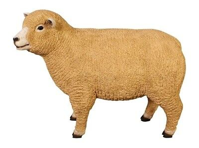Sheep Statue Ryeland Ewe LIFE SIZE Sheep Lamb Farm Animal Display Prop