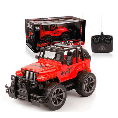 1:24 Big Wheel Jeep off-road Remote Control RC Car Jeep Vehicle Kid's Toy Gifts
