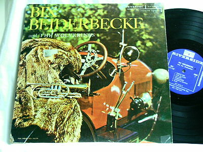 BIX BEIDERBECKE & THE WOLVERINES George Brunies Jimmy Hartwell Riverside LP