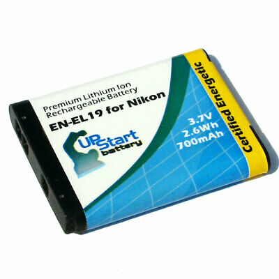 New Battery for Nikon Coolpix En-el19 S4100 S3100
