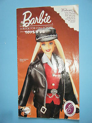 1997 Toys R Us Exclusive Barbie Collectible Brochure