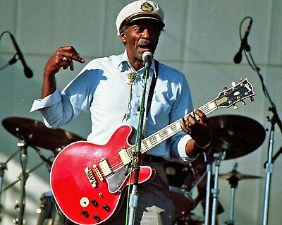 Chuck Berry 8X10 Glossy Photo Picture