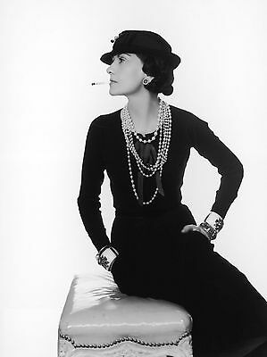Coco Chanel - Famous Fashion Designer 8X10 Glossy Photo Picture