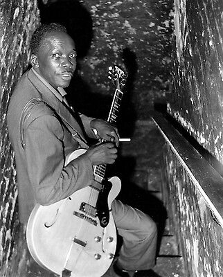 John Lee Hooker 8X10 Glossy Photo Picture