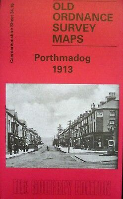 Old Ordnance Survey Maps Porthmadog Wales 1913 Godfrey Edition Special Offer