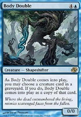 MTG Body Double x 1 EX/NM Planar Chaos Magic the Gathering Blue Rare