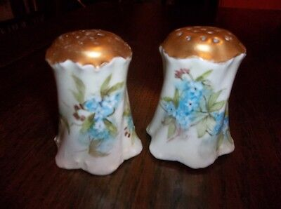 "R/C Versailles: Antique - 2.75"" X 2.5"" HANDPAINTED SALT & PEPPER SET   130904010"