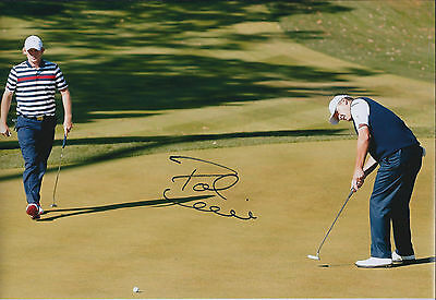 Paul LAWRIE SIGNED Autograph 12x8 Photo Ryder Cup VICTORY WIN AFTAL COA
