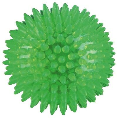NEW Hedgehog Bright Dog Ball, Thermoplastic Rubber (TPR) 33651