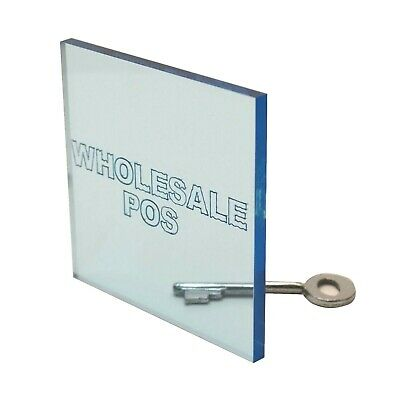 Pale Blue Tinted Colour Acrylic 3Mm Thick Perspex Sheet Cut Panel Fast Delivery