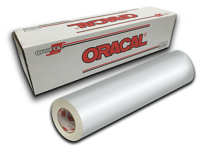 "12"" X 10ft - White Matte Oracal 651 Craft, Graphics & Hobby Cutting Vinyl"