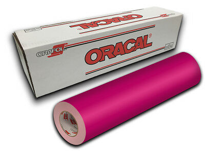 """12"""" X 10ft - Pink Oracal 651 Craft, Graphics & Hobby Cutting Vinyl"""
