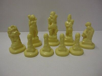 NEW COLLECTABLE  9 x REF 0028 SUPERCAST KAMA SUTRA CHESS MOULDS / MOLDS