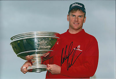 Robert KARLSSON SIGNED Autograph 12x8 Photo AFTAL COA St Andrews Golf WINNER