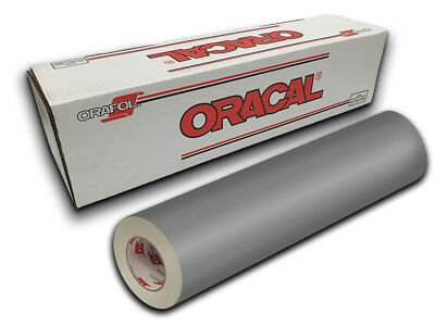 "12"" X 4ft - Silver Oracal 651 Graphics & Hobby Cutting Vinyl"
