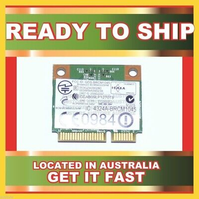 Genuine Bcm943225Hm Broadcom 802.11B/g/n Mini Pcie Card For Tm2 Tm2-1000
