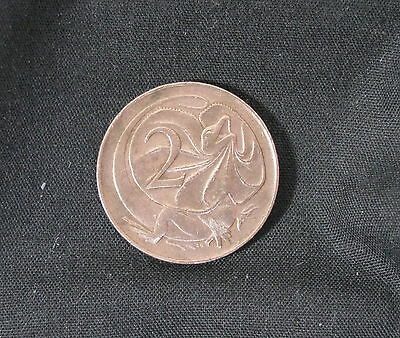 1966 AUSTRALIAN 2 CENT COIN, ELIZABETH II (gVF) - MUST HAVE COIN