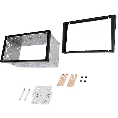 Vauxhall Corsa Vectra Vivaro Double Din Fascia Panel Adapter Plate & Cage