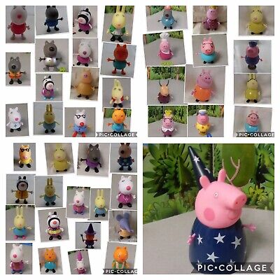 Peppa Pig Figures Toys .. Emily Zoe Mummy Daddy .. You Choose