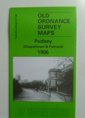 OLD Ordnance Survey Maps Pudsey Chapeltown & Fulneck  Yorks 1906 Sheet 217.06