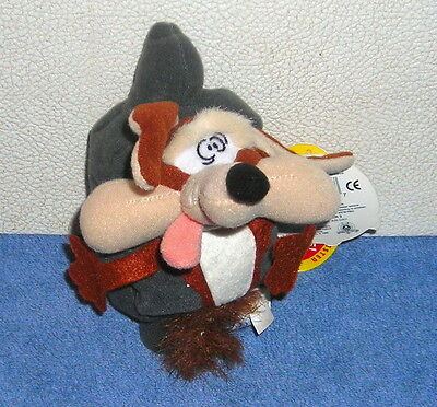 """LOONEY TUNES CLASSIC COLLECTION WILE E. COYOTE 4"""" PLUSH BEAN BAG SLAMMER"""