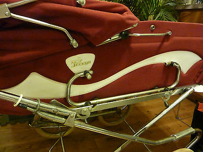 Vintage 1970's Peg Perego Pram Carriage & Stroller Combo Italy Excellent Cond
