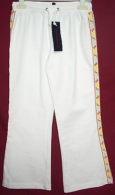 BNWT Girls French Connection FCUK White Jogging Bottoms Leggings Trousers Age 8