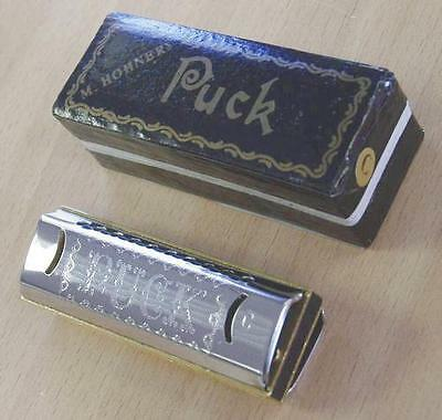 Harmonica diatonique Hohner Puck neuf Do - C. Joli, musical, idéal en initiation