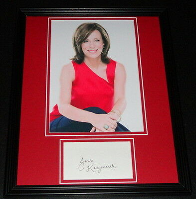 Jane Kaczmarek Signed Framed 11x14 Photo Display Malcolm in the Middle