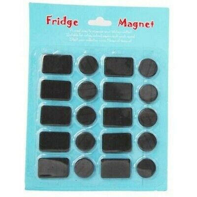 20pce Craft Magnets Assorted Sizes for Craft, Kitchen