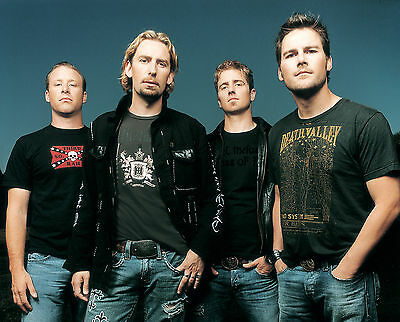 Nickelback 8X10 Glossy Photo Picture