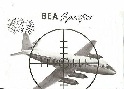 Document Aviation Vickers Viscount Bea Specifies G-Ahre