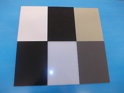 6mm 400mm x 400mm  Polypropylene Sheet Panel Plate Engineering Plastic Material