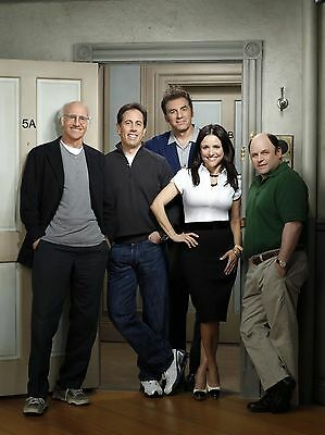 Seinfeld Cast 8X10 Glossy Photo Picture Image #2
