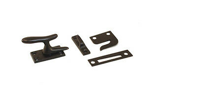 Oil Rubbed Bronze Large Casement Window Fastener Cabinet Latch Lock CF66-us10b