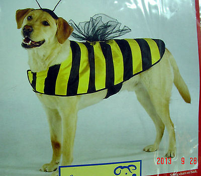 Size-XS, CASUAL CANINE BUMBLE BEE DOG COSTUME FOR HALLOWEEN