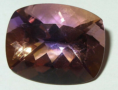 22.10ct Stunning Natural Bolivian Blended Ametrine Cushion Cut