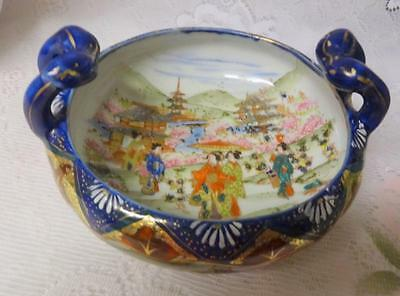 Antique 19th Century Chinese Export Famile Rose Bowl