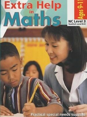 Extra Help in Maths NC Level 3 Age 9-11 Paperback Book