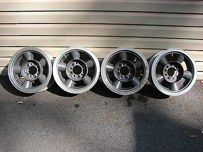 14 X 6 Vintage Competition 2 Piece Aluminum Wheels Scca Race Shelby Amc Camaro