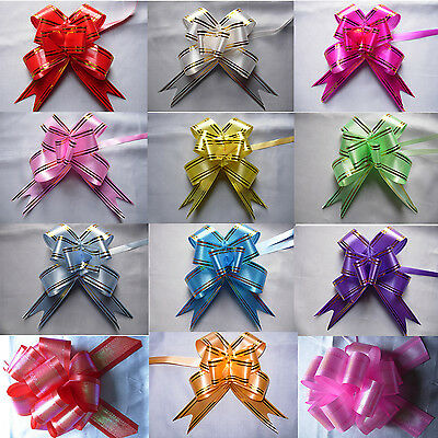 25MM Ribbon Pull Bows Wedding Party Decorations Gift Wrap Packaging Christmas