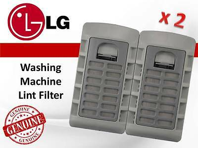 2 X Genuine Lg Washing Machine Lint Filter Part # 5231Ea2006A